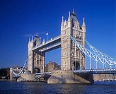 Tower bridge, River thames, London, England, U.K.
