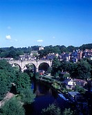 Railway bridge, Knaresborough, North Yorkshire, England, U.K.