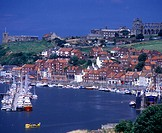 River Esk, Whitby harbour, North Yorkshire, England, U.K.