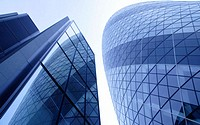 The Gherkin, Swiss Re Building, City, London, UK