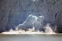 Ice Calving from the Perito Moreno Glacier, Argentina