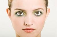 Beautiful woman wearing eyeshadow