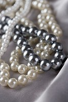 Black and White Pearl Necklaces