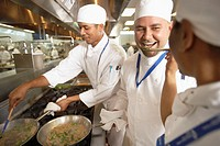 Chef Tasting a Dish
