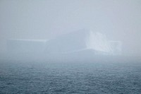 Iceberg Seen Through Fog