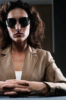 Businesswoman with Sunglasses