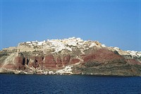Greece, Cyclades, Santorini, Oia port