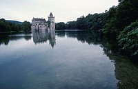 German Castle on Lakeshore