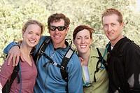 Hikers Posing