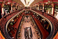 Interior of Queen Victoria Building, Sydney, Australia