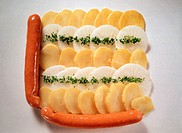 Vienna-Style Sausage with Potato Salad