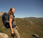 Young Woman on Hiking Trip (thumbnail)