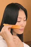 Woman Combing Her Hair (thumbnail)