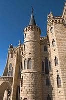 Palacio Episcopal, by Gaudi, Astorga, Camino de Santiago. León province, Castilla y León, Spain.