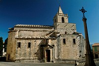 Low angle view of a church, Provence, France