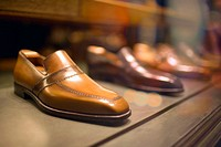 Dress Shoes in Store Window, Madison Avenue, Manhattan, New York City, US