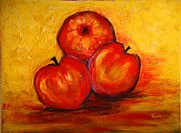 'Fruit' 12 x 16' Acrylic on canvas 2004