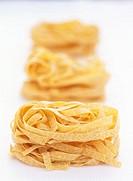 Fettucce pasta nests