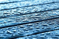 Wood table, rain, water drops,  Detail  Table, boards, garden table, outside, wet, raindrops, rainy weather, weathers, weather, rain, wetness, moistur...