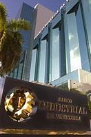 Banco Industrial de Venezuela bank tower on Brickell Avenue in Miami, Florida.