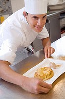 Apple pie. Luis Irizar cooking school. Donostia, Gipuzkoa, Basque Country, Spain