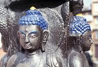 Buddha statue, Kathmandu, Nepal