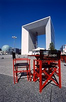 France, Paris, La Defence, Grande Arche