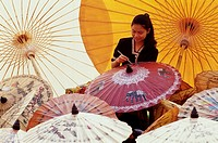 Chiangmai, Umbrella Painting