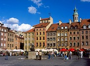 Market Square, Old Town, Warsaw, Poland
