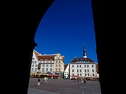 Town Hall Square, Old Town, Tallinn, Estonia