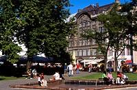 The Philharmonic Square, Old Town, Riga, Latvia