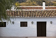 'Cortijo' (typical Andalusian farmhouse). Axarqu&#237;a, Costa del Sol. M&#225;laga province, Andalusia, Spain