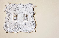White Switchplate