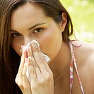 Woman Blowing Nose (thumbnail)