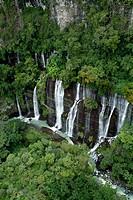 Los Chorros del Varal waterfalls. Michoacan, Mexico