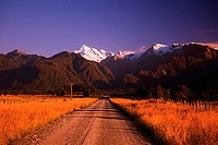 Unpaved Road near Southern Alps