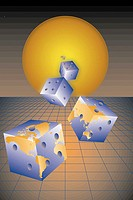 Dice from the Sun