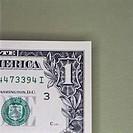 Corner of One Dollar Bill
