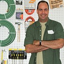 Smiling Hardware Store Owner