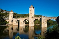 Pont Valentre in Cahor, France