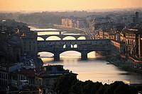 Ponte Vecchio over Arno River