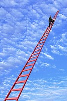 Climbing Ladder to Sky