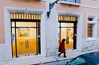 Tapeçarias de Portalegre Gallery, Contemporary art at Rua Academia de Ciencias. Lisbon. Portugal.