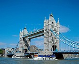 10519015, England, Great Britain, Europe, London, Tower bridge, holiday boats,