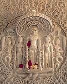 Relief Carvings in Jain Temple