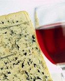Blue Cheese With Red Wine