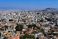 Athens Surrounding the Acropolis