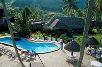 Swimming Pool Area at Resort
