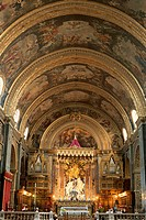Malta, La Valetta, St. John´s Co-Kathedrale, sanctuary,  Island state, Maltese islands, island, Mediterranean island, capital, church, cathedral, cons...