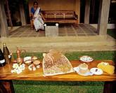 Island Sri Lanka, Negombo, Ethukala,  Ayurveda-Pavillons-Negombo, garden,  Table, ingredients, ayurvedisch,  Asia, South Asia, tourism, Hotellerie, lu...